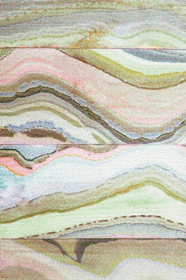 Covor Vegas Pop 39 WWW multicolor dreptunghiular 140x200cm - ProConfortCarpet