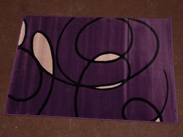 Covor Tatoo 29LML mov dreptunghiular 190 x 290 cm - ProConfortCarpet